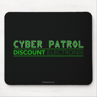 Cyber Patrol Mouse Pad