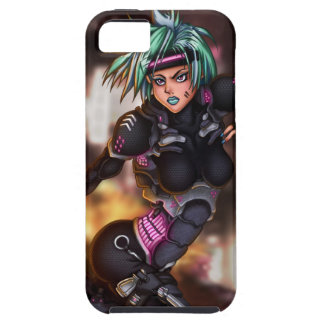 Cyber Police Girl iPhone 5 Cases