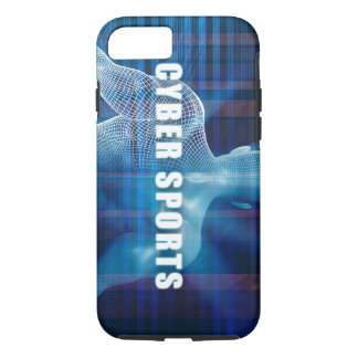 Cyber sports as a Futuristic Concept Abstract iPhone 7 Case