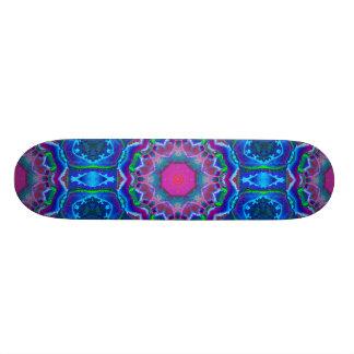 Cyberdelic Kaleidoscope Skateboard