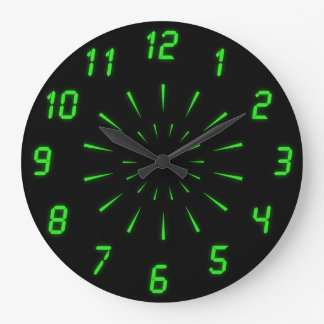 Cyberdelic Wall Clock