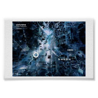 cyberfunk-chaotic dimensions urbaneffect poster