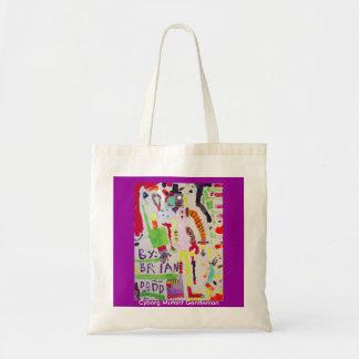 Cybord Mutant Gentleman budget tote Tote Bag
