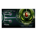 Cyborg Alien Business Cards