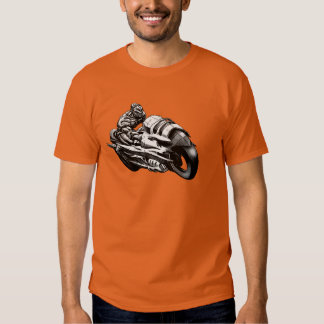 Cyborg Biker T-shirt