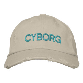 CYBORG Customizable Cap at eZaZZleMan.com Embroidered Hat