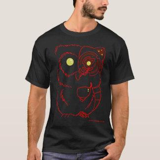 Cyborg Owl - Red T-Shirt
