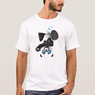 Cyborg Panda;Einar T-Shirt
