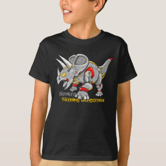 Cyborg Robot Machine Triceratops Dinosaur shirt