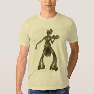 cyborg waiteress t shirt