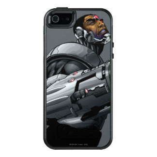 Cyborg & Weapon Bust 2 OtterBox iPhone 5/5s/SE Case