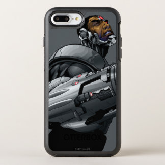 Cyborg & Weapon Bust 2 OtterBox Symmetry iPhone 7 Plus Case