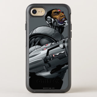 Cyborg & Weapon Bust 2 OtterBox Symmetry iPhone 8/7 Case