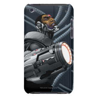Cyborg & Weapon Bust Barely There iPod Case
