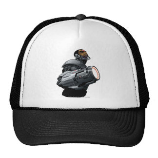 Cyborg & Weapon Bust Cap