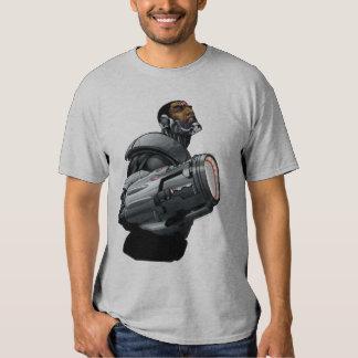 Cyborg & Weapon Bust Shirts