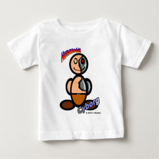 Cyborg (with logos) baby T-Shirt