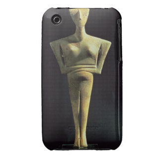 Cycladic female figure, from the Island of Amorgo, iPhone 3 Cover