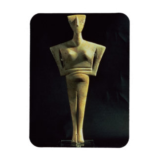 Cycladic female figure, from the Island of Amorgo, Magnets