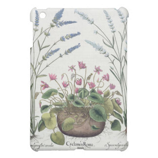 Cyclamen and Lavender: 1.Cyclamen Romanum; 2.Spica iPad Mini Case