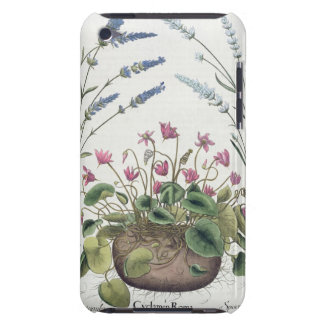 Cyclamen and Lavender: 1.Cyclamen Romanum; 2.Spica iPod Touch Cover