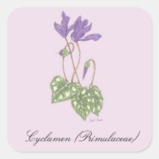 Cyclamen Botanical Seal