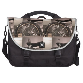 Cycle Bicycle art graphic deco template add text Laptop Computer Bag