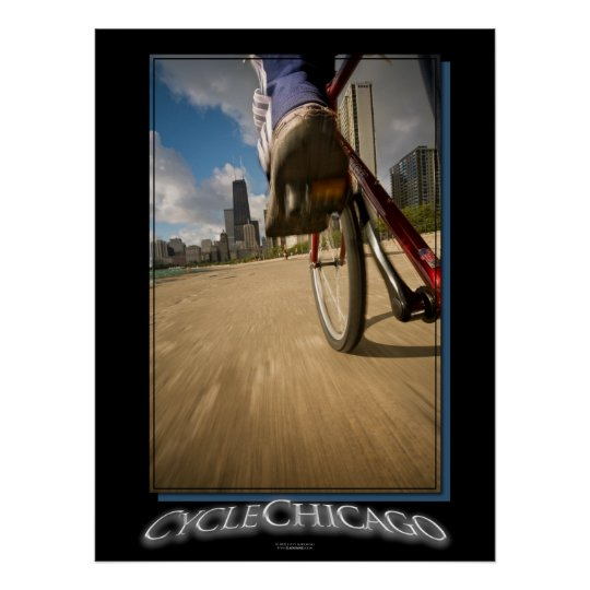 Cycle Chicago Poster