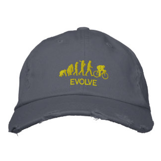 Cycle gifts - Evolution of cycling Cycle Embroidered Hat