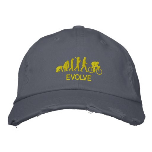 Cycle gifts - Evolution of cycling Cycle Embroidered
