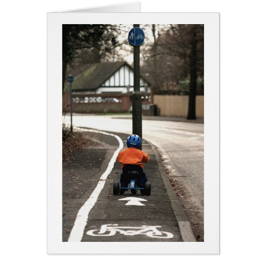 Cycle lane card