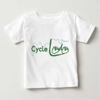 Cycle London Green Logo T-Shirt