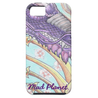 Cycle of Life Dragon Drawing Case For The iPhone 5
