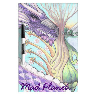 Cycle of Life Dragon Drawing Dry Erase Board