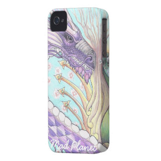 Cycle of Life Dragon Drawing iPhone 4 Covers