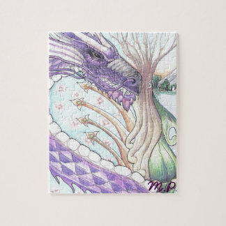 Cycle of Life Dragon Drawing Jigsaw Puzzle