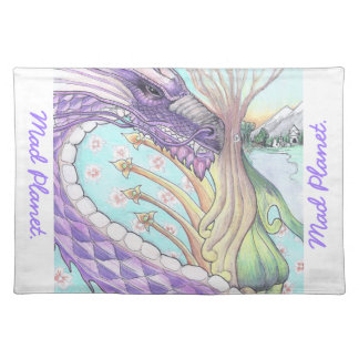 Cycle of Life Dragon Drawing Placemat