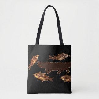 Cycle of Life Underwater Tote Bag