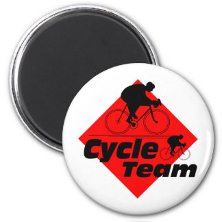 Cycle Team 6 Cm Round Magnet