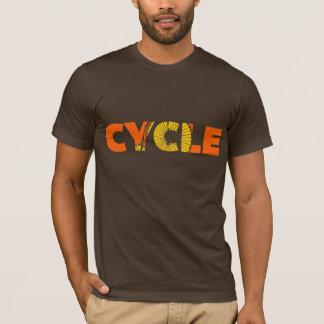 Cycle Text Design T-Shirt