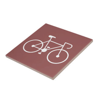 """cycle, travel, sports, enjoy, """"wheels on the go"""" small square tile"""