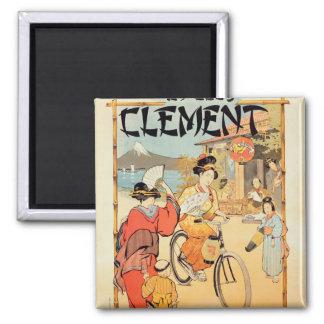 Cycles Clement Pre Saint-Gervais Magnet