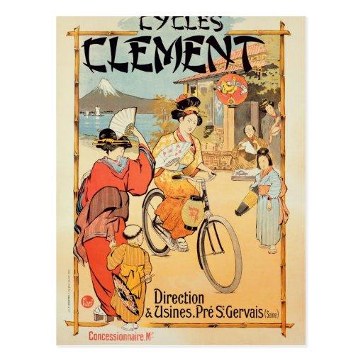 Cycles Clement Pre Saint-Gervais Post Cards