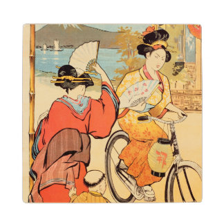Cycles Clement Pre Saint-Gervais Wood Coaster