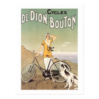 Cycles De Dion Bouton Postcard