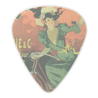 'Cycles de La Metropole', Marie & Co. (colour lith Acetal Guitar Pick