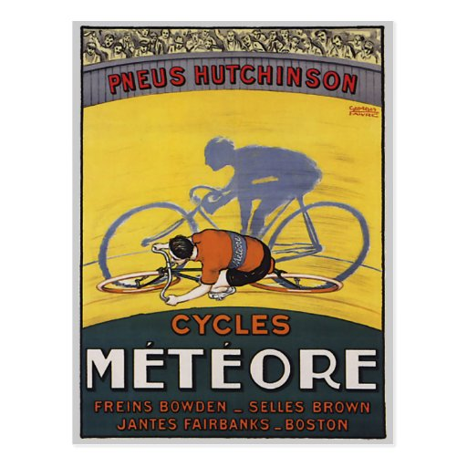 CYCLES METEORE POSTCARDS