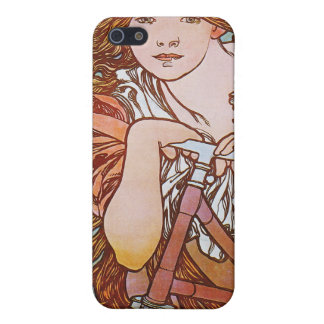 Cycles Perfecta, Mucha iPhone 5 Case