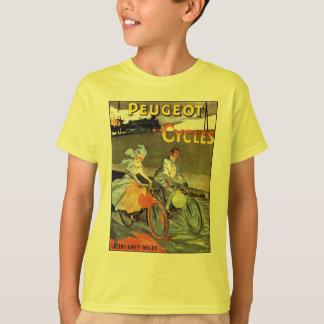 Cycles Peugeot Vintage Bicycle Art T-Shirt