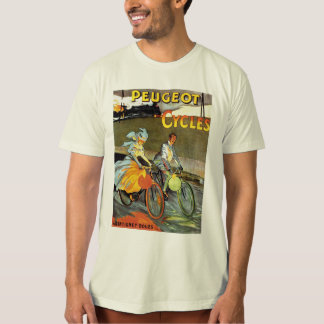 Cycles Peugeot Vintage Bicycle Art T-shirts